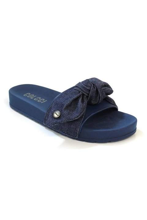 Slide fem Denim