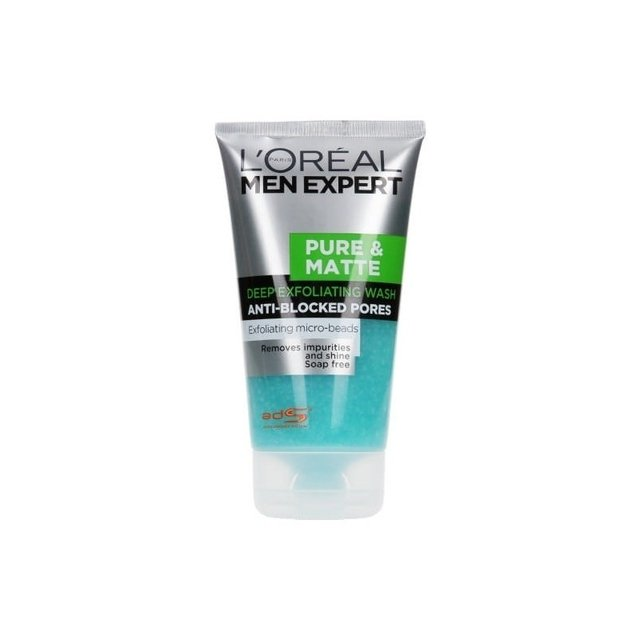 Esfoliante facial L'Oreal Men Expert Pure