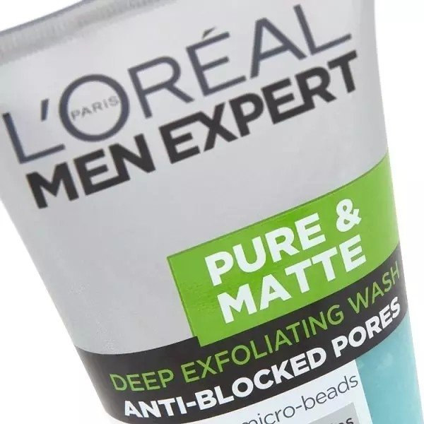 Esfoliante facial L'Oreal Men Expert Pure na internet