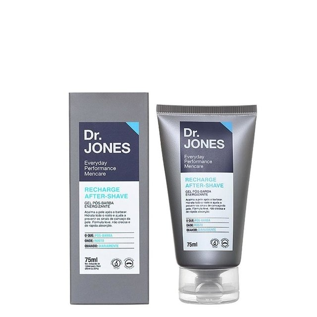 Gel pós barba Dr. Jones Recharge After Shave
