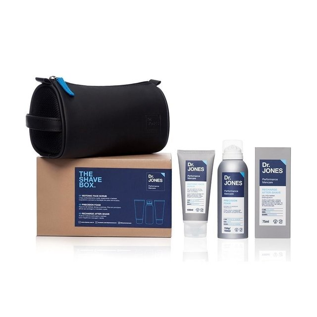 Kit para Barbear Dr. Jones The Shave Box - comprar online