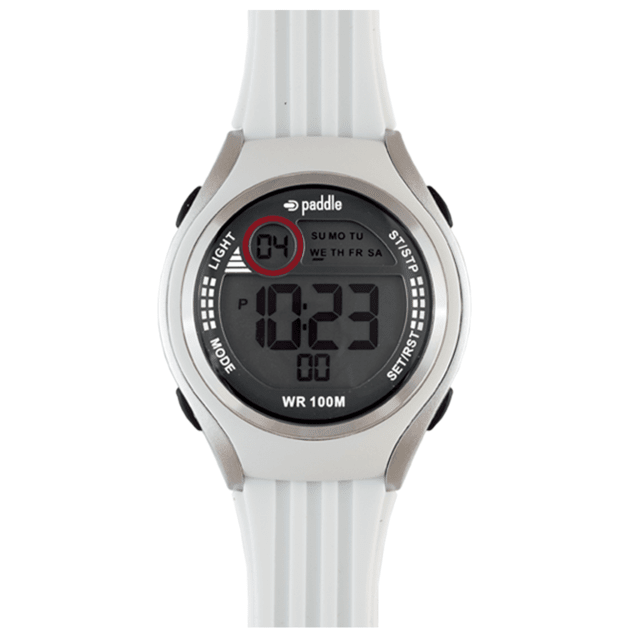 Reloj Digital de Caballero con malla de Caucho - Paddle Watch