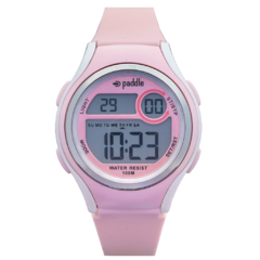reloj digital unisex paddle watch rosa