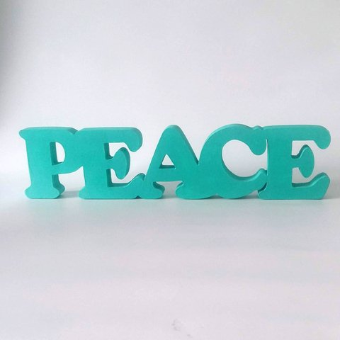 PALABRAS DECORATIVAS PEACE