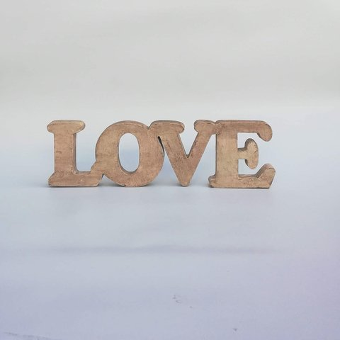 PALABRAS DECORATIVAS LOVE