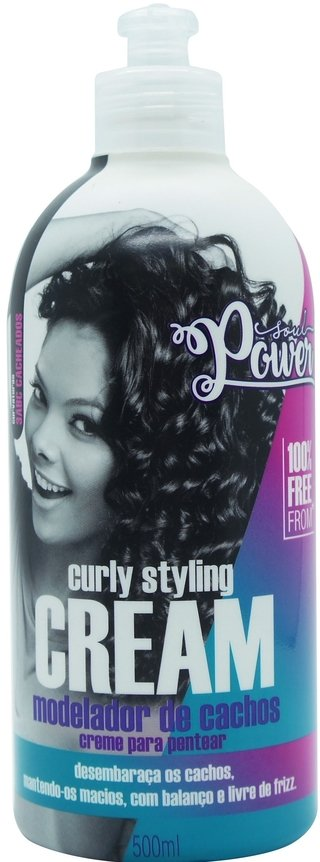Beautypoo - Creme para Pentear Curly Styling Cream - Soul Power 500ml