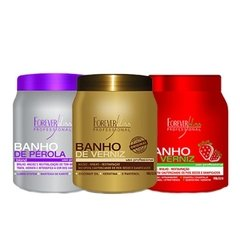 comprar kit banhos forever liss beautypoo cosmeticos