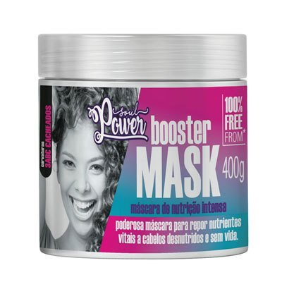 Beautypoo - Máscara de Nutrição Intensa Booster Mask - Soul Power 400g