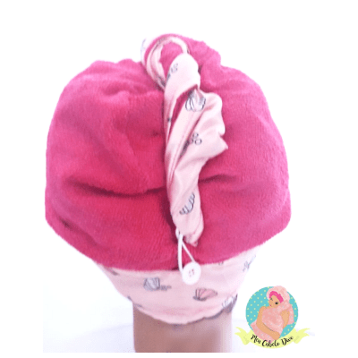 df934aee8e8a7 ... comprar-touca-atoalhada-microfibra-conchas-rosa-beautypoo-cosmeticos
