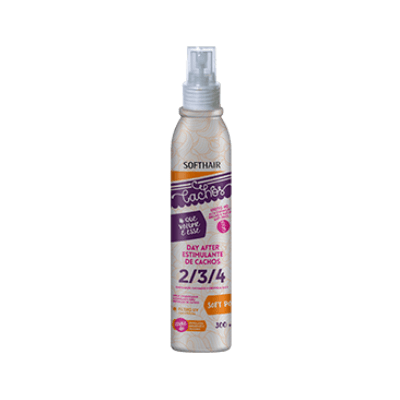 comprar-Spray-Day-After-Estimulante-de-Cachos-Que-Volume-é-Esse-Soft Hair-300ml-beautypoo-cosmeticos