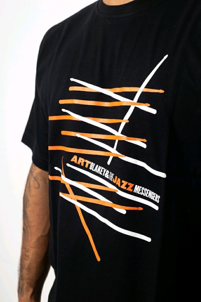 Estampa remera Art Blakey
