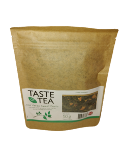 Chá Misto Verde Sweet Fruits Bag Com Visor 50GR Taste of Tea