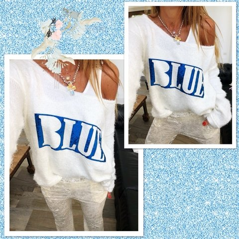 Sweater blue