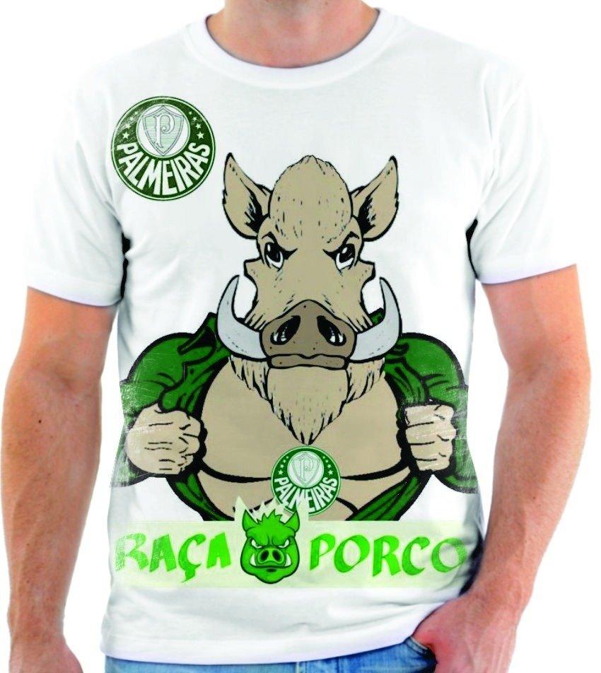 35d5058c82 CAMISETA PALMEIRAS MASCOTE PORCO - Comprar em Uai Shirt