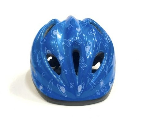 Capacete Infantil Black Mountain Espacial Azul