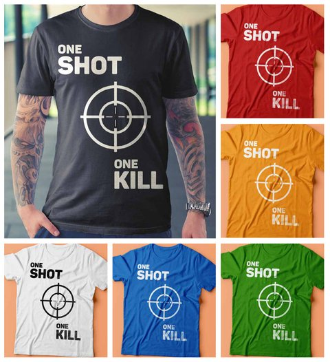 Camiseta One Shot One Kill