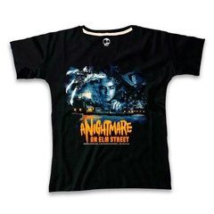 A Nightmare On Elm Street - Remera Craneo - Mujer
