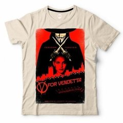 V For Vendetta | Remera 100% Alg. | Craneo Remeras De Cine