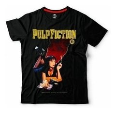 Pulp Fiction | Remera 100% Alg. | Craneo Remeras De Cine