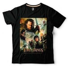 Lord Of The Rings 3 | 100% Alg. | Craneo Remeras De Cine