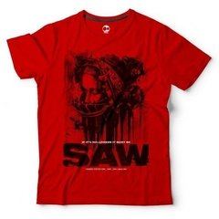 Saw | Remera 100% Algodón | Craneo Remeras De Cine