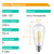 Lampara Led Filamentos Edison Retro Dimerizable St64 8w