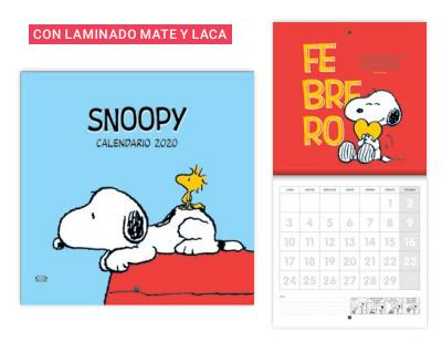 Calendario Snoopy 2020.Calendario Snoopy 2020