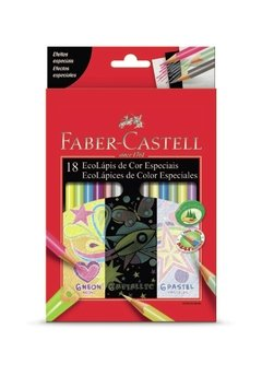 Lapices Faber Castell Colores Especiales x 18