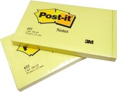 Post It 76 x 127 mm Amarillo