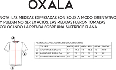 Remera Regular Paisaje - Oxala