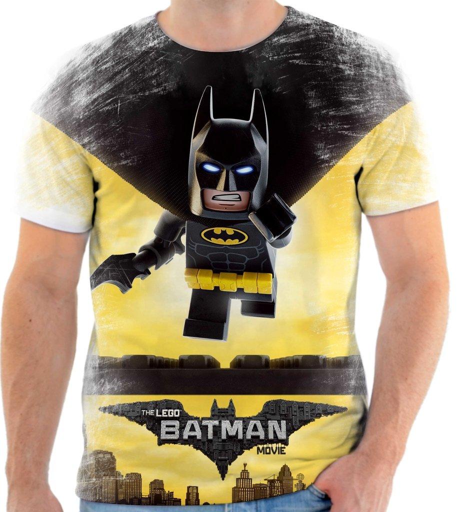 83aa8dd4fdf74 Camiseta Camisa Batman Lego 002 - Estilo 66 Camisetas