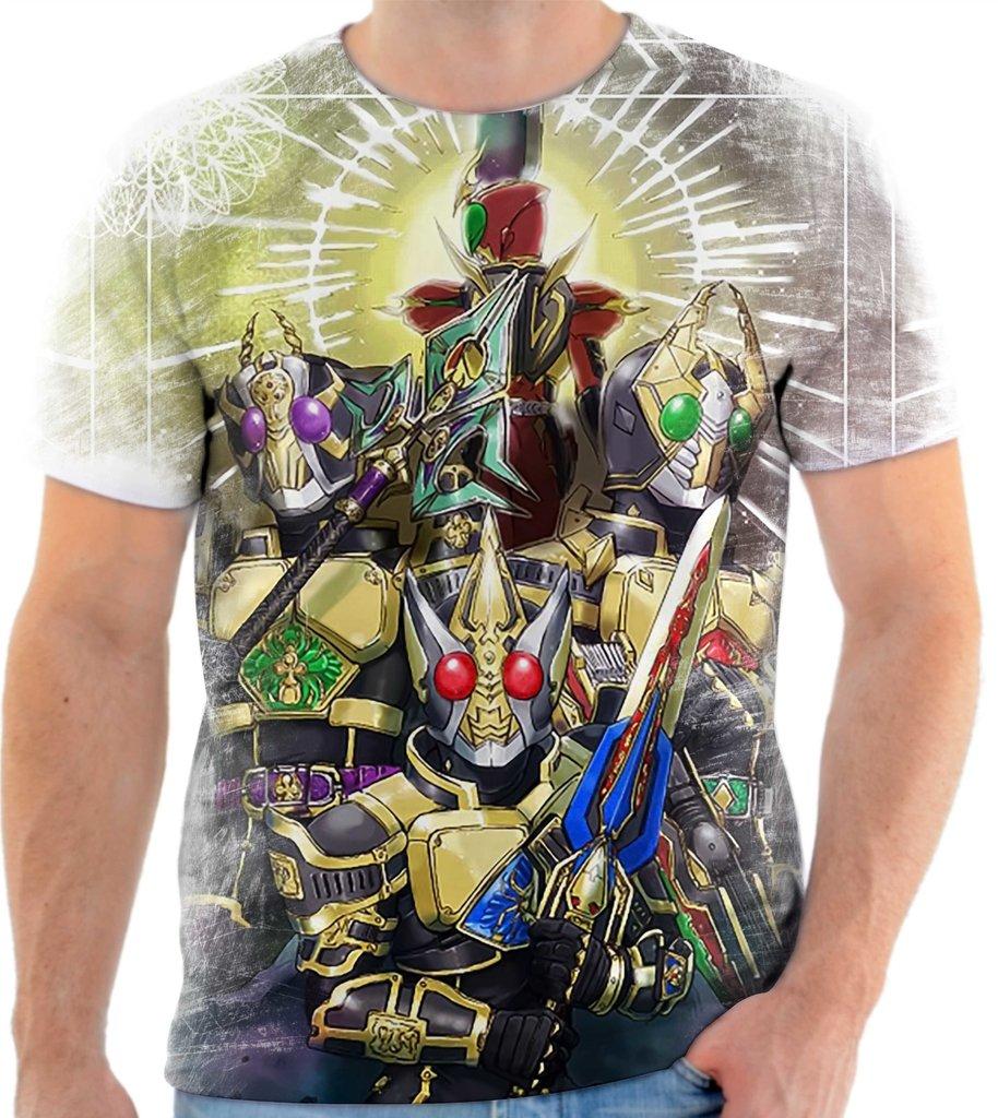 Camisa Camiseta Anime Kamen Rider 01