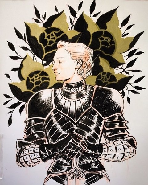 Original - Brienne of Tarth - Lucas Werneck