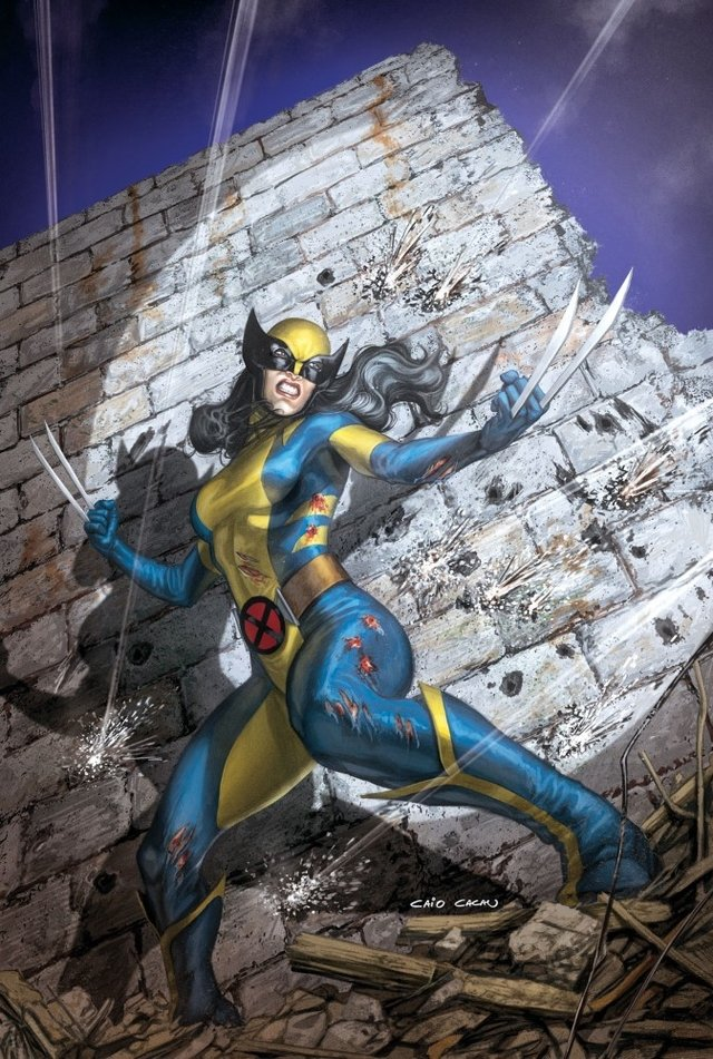 Print A3 - X Men - All New Wolverine - Caio Cacau - buy online