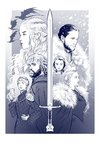 Print A3 - Game Of Thrones - Lucas Werneck - comprar online