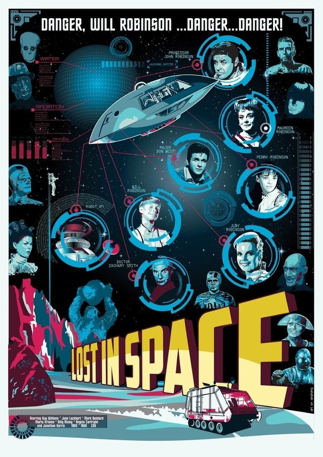 Print A3 - Lost in Space - Andre HQ - comprar online