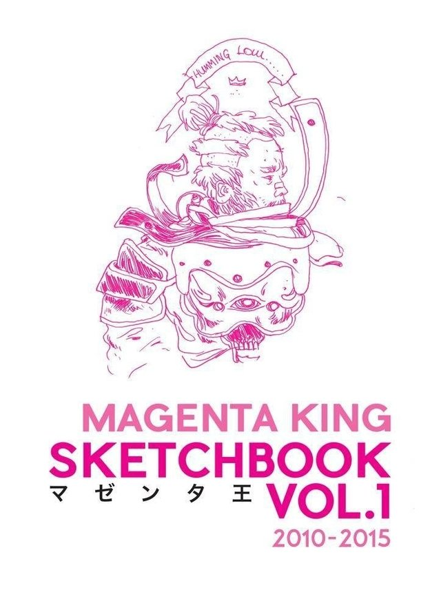 Sketchbook - 2010/2015 - Magenta King - Artist Store