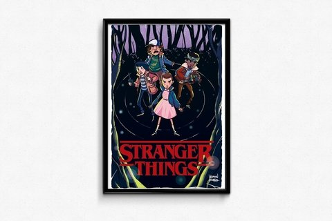 Print - Stranger Things -  Werllen Holanda - buy online