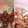 Pack Promocional - Artbooks Lovely Darkness Volumes 2 e 3 - Eduardo Vieira