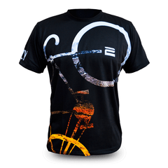 Remera Tiempo Libre - Bike Full Black