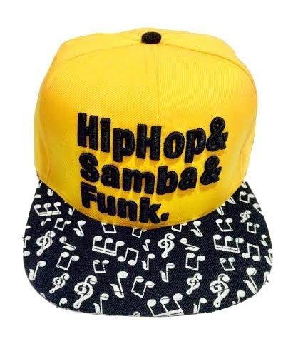 Boné Hashtag Amarelo Hip Hop ed01c24affe