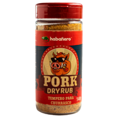 Tempero para Churrasco - Dry Rub PORK