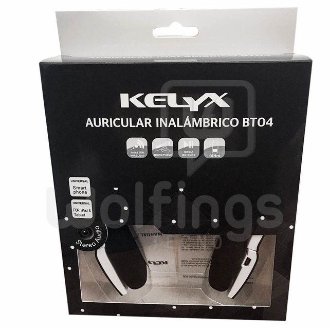 Auricular Vincha Bluetooth Kelyx BT-04 Celular Tablet Android Iphone [Cod. AUR-050] en internet