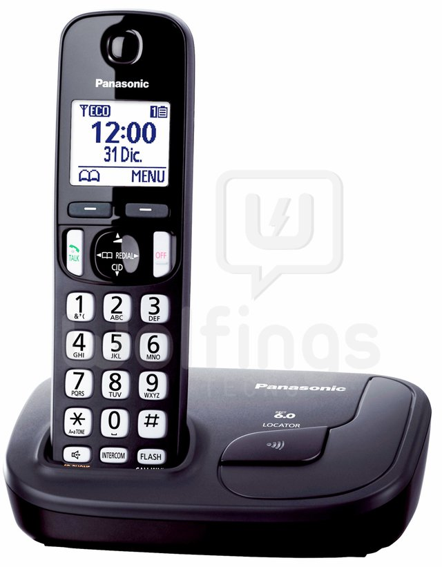 Teléfono Inalambrico Digital Duo Panasonic KX-TGD212 [Cod. TEL-011] - Wolfings