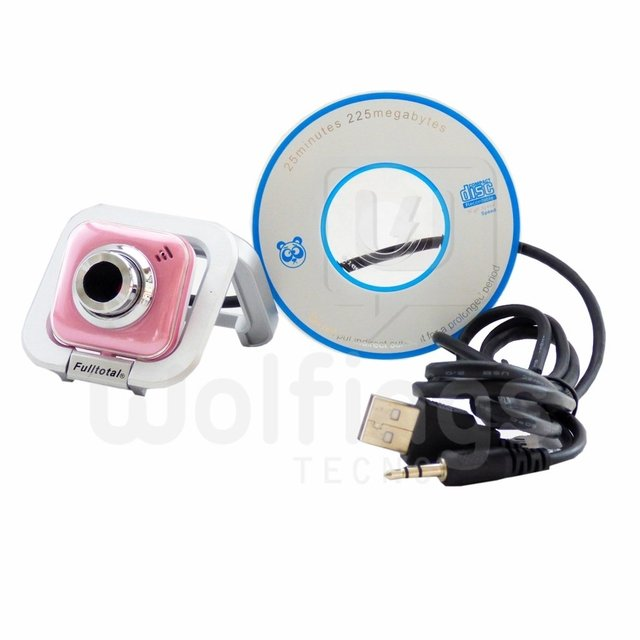 Webcam con Microfono 2 MP WE-120 Fulltotal Varios Colores [Cod. [WEC-003] - Wolfings