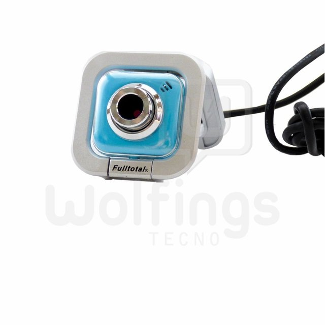 Webcam con Microfono 2 MP WE-120 Fulltotal Varios Colores [Cod. [WEC-003] - comprar online