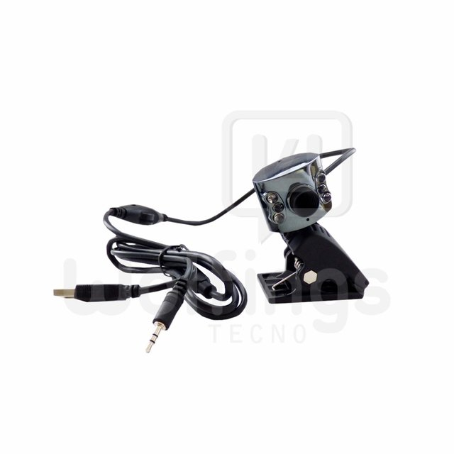 Webcam con Microfono WE-6011 Fulltotal [Cod. WEC-001]