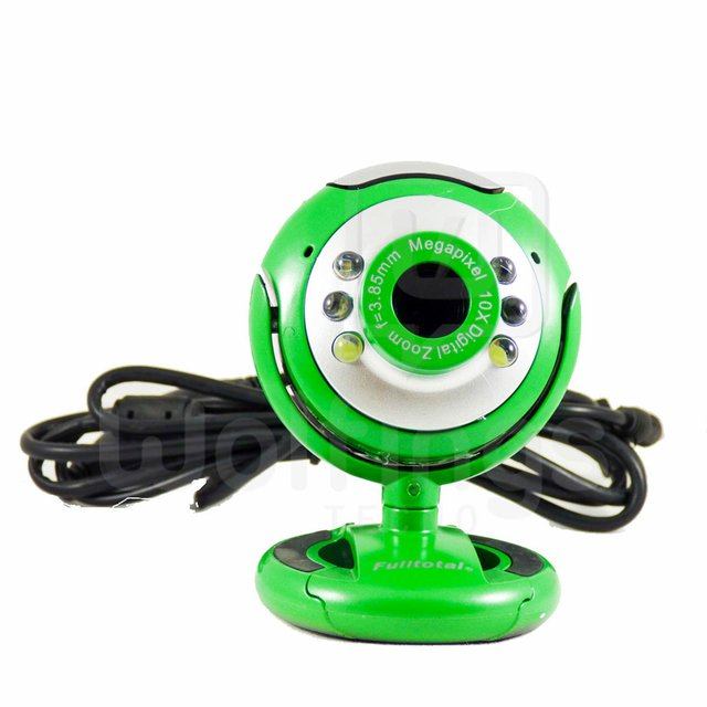 WEBCAM 2 Mp Control de Volumen 6 LED M68 [Cod. WEC-002] - Wolfings