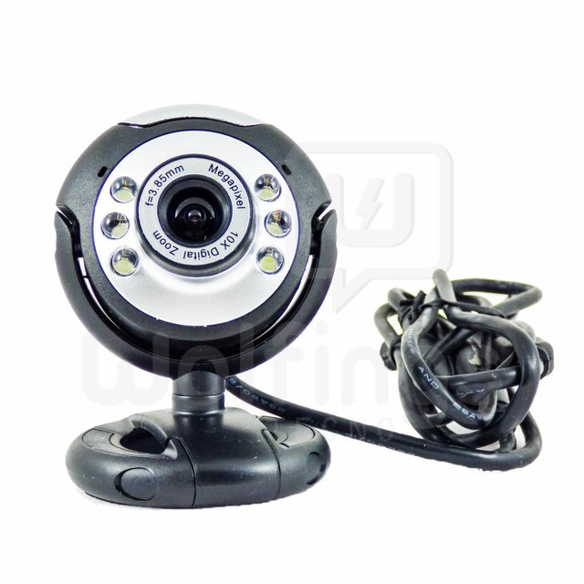 WEBCAM 2 Mp Control de Volumen 6 LED M68 [Cod. WEC-002] - tienda online