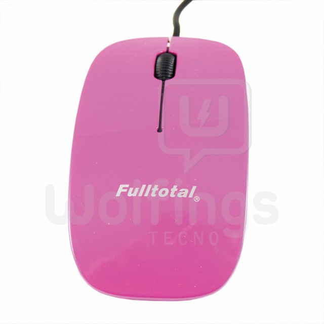 MOUSE OPTICO FULLTOTAL. VARIOS COLORES MO-2015 [Cod. MOU-005] - Wolfings
